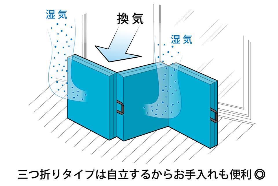 マメなお手入れは必修!床敷きの畳やフローリング方は、Nの形で自立するからお手入れも簡単!